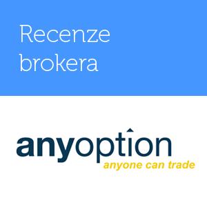 Binární opce u AnyOption – recenze, diskuze a zkušenosti s brokerem AnyOption