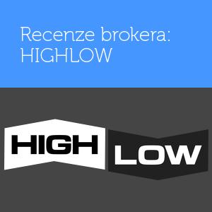 Recenze HighLow – broker na binární opce