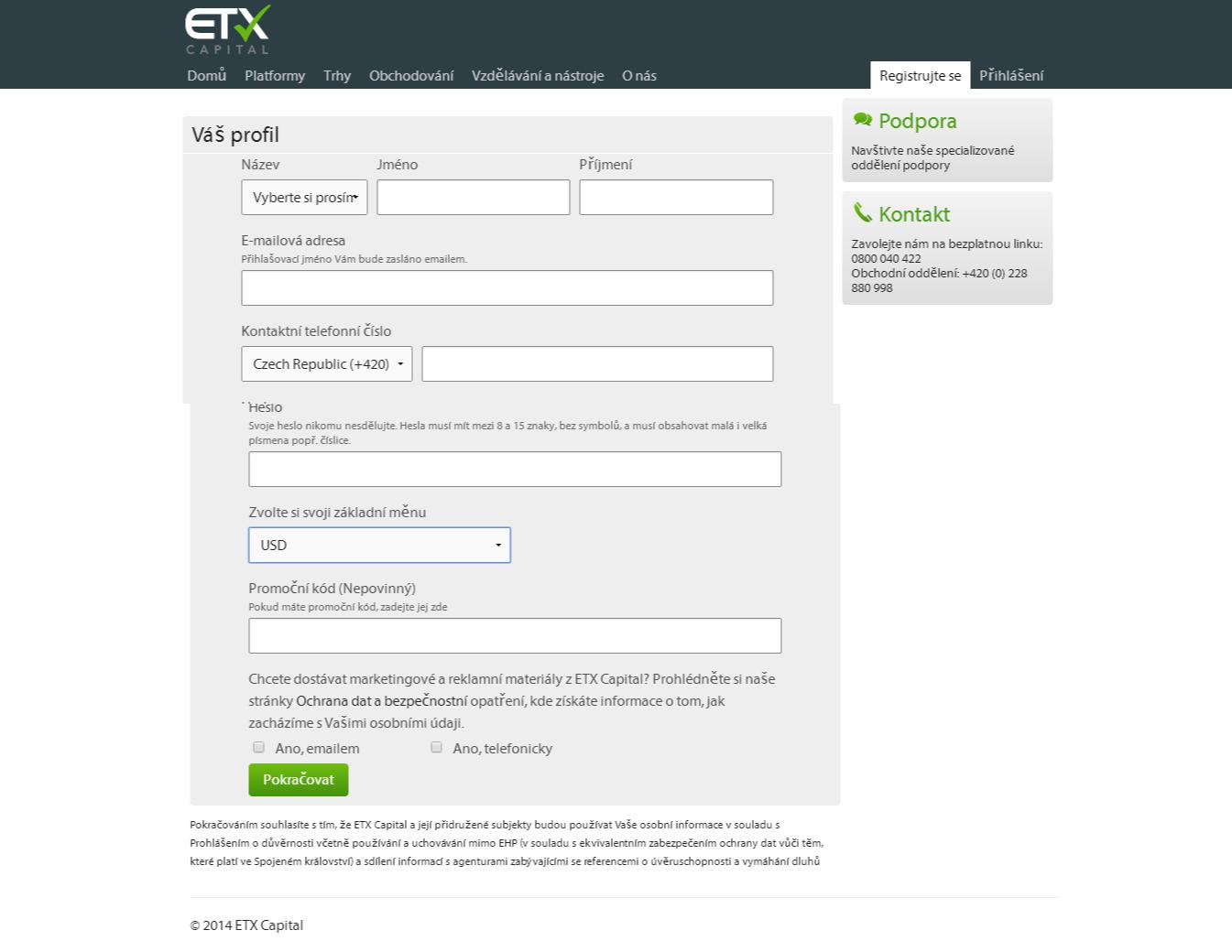 Etx binární recenze