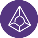 Kryptoměna Augur logo