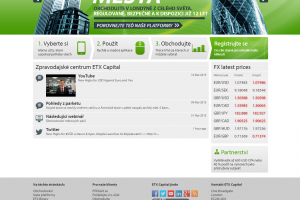ETX Capital webová stránka brokera