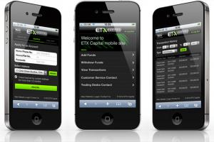 ETX mobilní platforma pro iOS i Android
