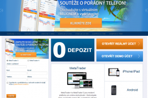 HighSky Brokers - webová stránka českého brokera
