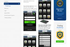 Mobilní aplikace pro obchodování binárních opcí