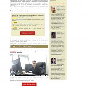Španělská verze webu PracujOnline