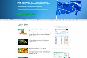 Web forexového brokera KeyStock