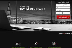 Webová stránka brokera BinaryTILT.com