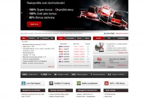 Webová stránka HotForex