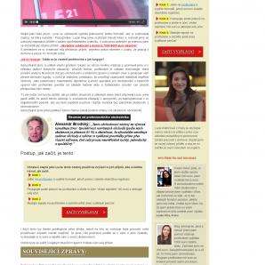 Web PracujOnline s falešnými recenzemi
