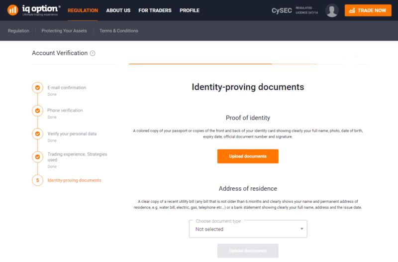 Pro kompletní verifikaci je nutné doložit dva dokumenty