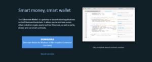 Ethereum peněženka je ke stažení na oficiálním webu