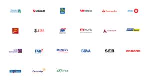Instituce, které využívají síť Ripple
