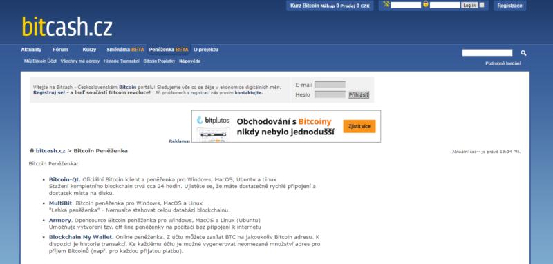 V roce 2013 byla vykradena české peněženka BitCash