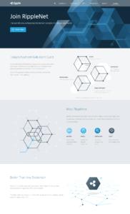 Webové stránky projektu Ripple