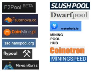 Mineři spolupracují prostřednictvím poolů