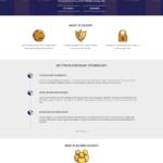 Oficiální web kryptoměny Zcash