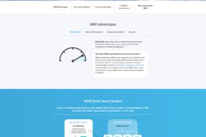 XEM - oficiální web