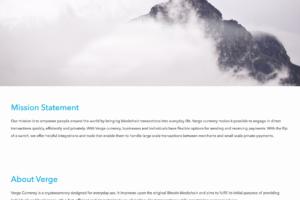 XVG - oficiální web