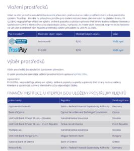 Metody financování obchodních účtů