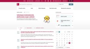 Webové stránky Finanční správy - správce daně v ČR