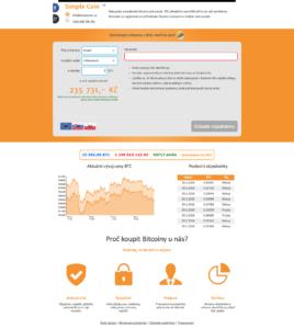 Návod - nákup BTC u SimpleCoin