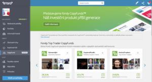 CopyFund je zajímavý investiční produkt