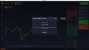 Zkušenosti lze získat prostřednictvím demo účtu u IQ Option
