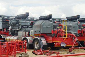 Zařízení pro hydraulické štěpení neboli frakování