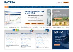 Zkušenosti s Patria Finance