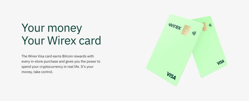 Platební karta Wirex