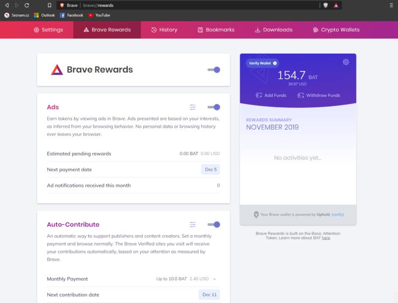 Návod: Jak používat prohlížeč Brave