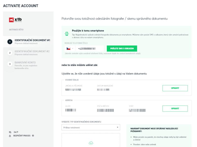 Návod: Jak začít obchodovat na burze - verifikace účtu