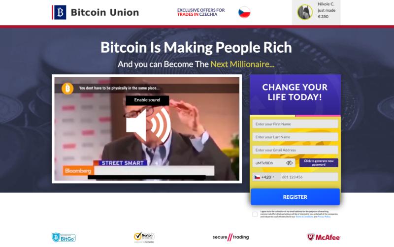 Platforma Bitcoin UNION