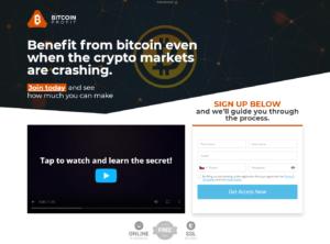 Webová stránka Bitcoin Profit