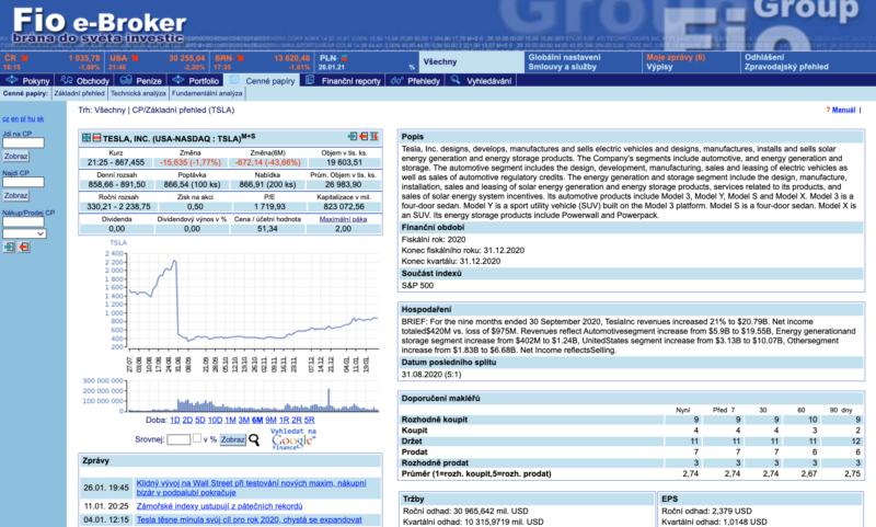 Platforma FIO e-Broker