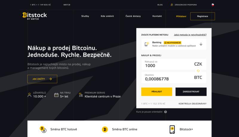 Pro přístup ke službě BitStock+ je nutná registrace